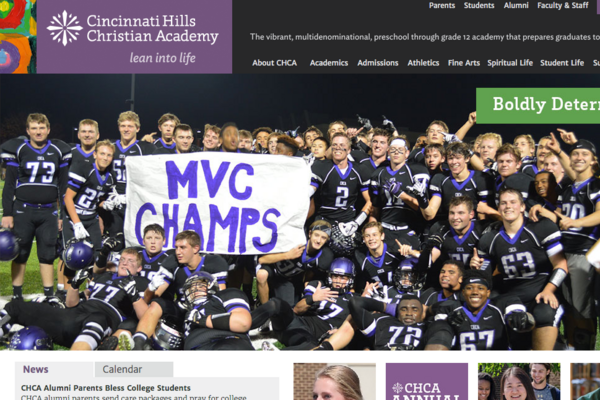 Cincinnati Hills Christian Academy Ranked The Top Christian High School In Ohio Cincinnati Business Courier
