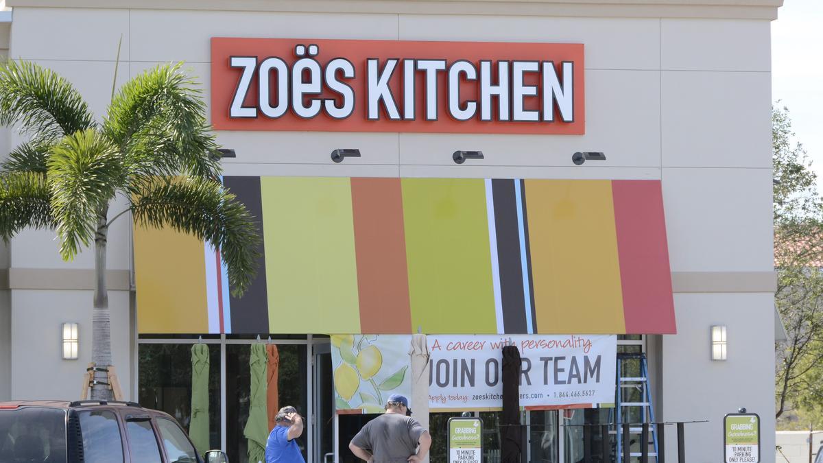 Zoes Kitchen Sign Zoe's Kitchen Aims To Double Restaurants In Houston Area  Houston