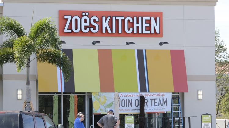 Zoe's Kitchen aims to double restaurants in Houston area - Houston on