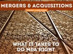 Thought Leader Forum: Mergers & Acquisitions