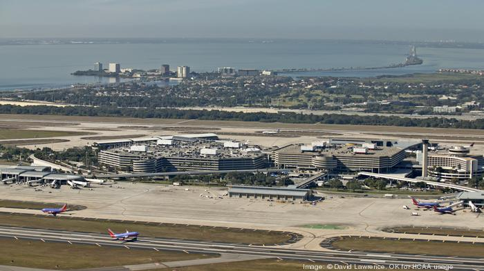 Aerial view of Tampa International Airport, Tampa,FL