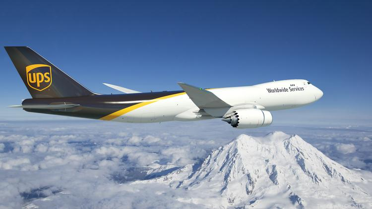 United Parcel Service's jumbo 747, 767 freighter order a big