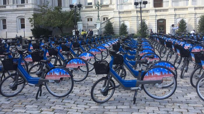 What I found during my ride on the city's relaunched bike share program