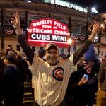Seattle banker and Cubs super fan <strong>Christian</strong> <strong>Schiller</strong> witnesses World Series history at Wrigley