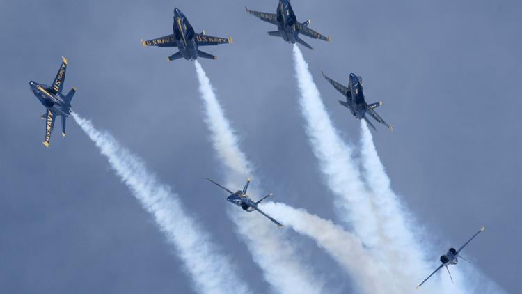 The Blue Angels are back and so are interstate closures for
