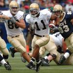 Why Navy v. Notre Dame is expected to be the busiest tourism weekend of the year