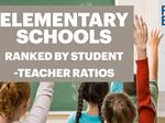 RANKED: Top Puget Sound-area elementary schools for student-teacher ratios