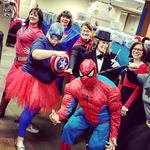 From Scooby Doo to super heroes - Halloween costumes take over area workplaces: Slideshow