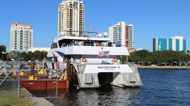 Will you ride the Cross Bay Ferry to buy walk-up tickets to Rays games?