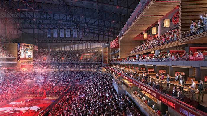 Plans filed to kick off $193 million Philips Arena renovation (PICS)