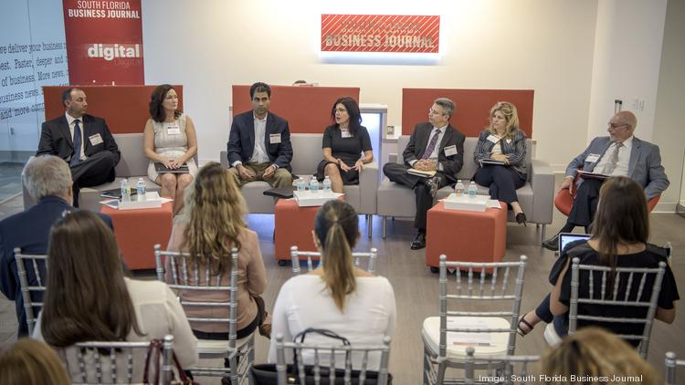 South Florida business leaders gathered at the Business Journal's office to discusses challenges, triumphs and what lies ahead for the health care industry.