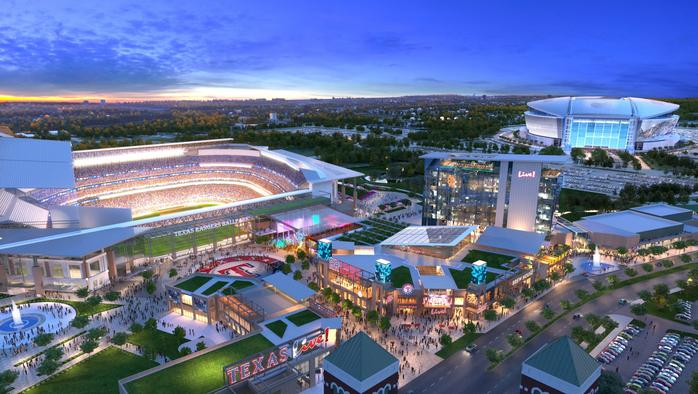 David Cordish talks sports-centric projects, new Texas Rangers development