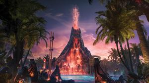 The popularity of Universal Orlando's Volcano Bay and Harry Potter boost Q1 revenue for Comcast Corp.