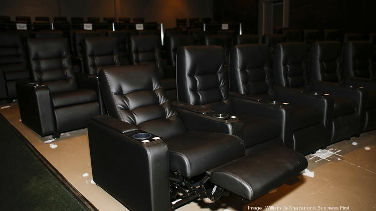 New Spacious Reclining Seats Have Been Installed At Baxter Avenue Theatres.