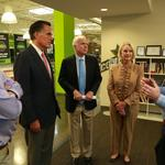 McCain, <strong>Romney</strong> talk small business and innovation at Infusionsoft HQ