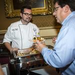 Tasty food, <strong>fine</strong> wine draws crowd to Lombardi event to fight cancer: Slideshow