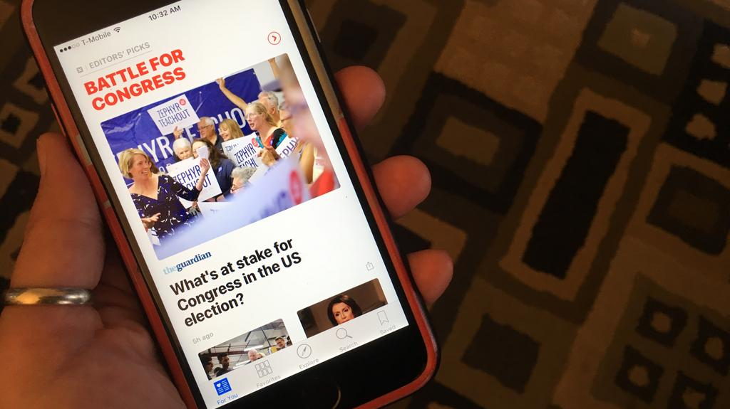 New York Times chief criticizes Apple News, compares it to early Netflix