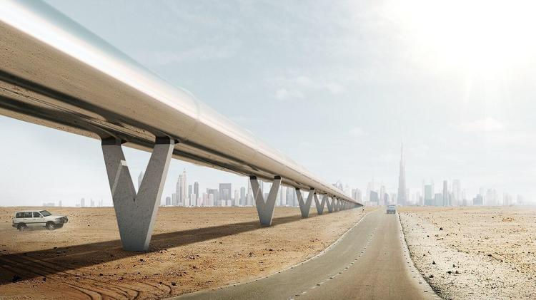 Hyperloop could be coming to one of these 11 U S  routes