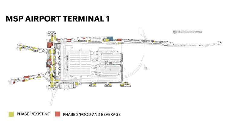 airport commission likely to seek more eateries, bars for terminal 1