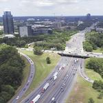 Perimeter CIDs hand over $10 million for I-285/<strong>Georgia</strong> 400 project