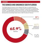 South Floridians unbanked in higher proportion than nation