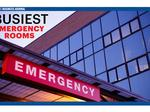 The busiest ERs in the metro area