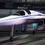 <strong>Branson</strong>-backed Colorado startup shows off supersonic test plane (Photos)