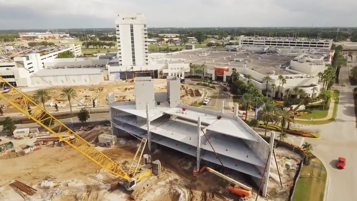 Seminole Hard Rock Tampa Brings In Drones For Construction Updates Video Bay Business Journal