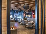 Inside Del Frisco's Grille, one of the Gulch's newest restaurants