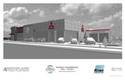 A rendering of the new Richfield Bloomington Mitsubishi store, scheduled to open in March.