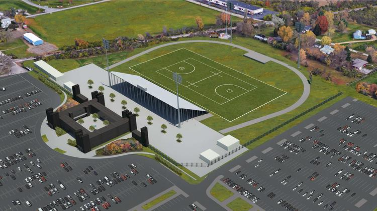 obetz building 6 500 seat fortress field for ohio machine and ohio