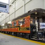 Talgo's return to Milwaukee celebrated in historic train car: Slideshow