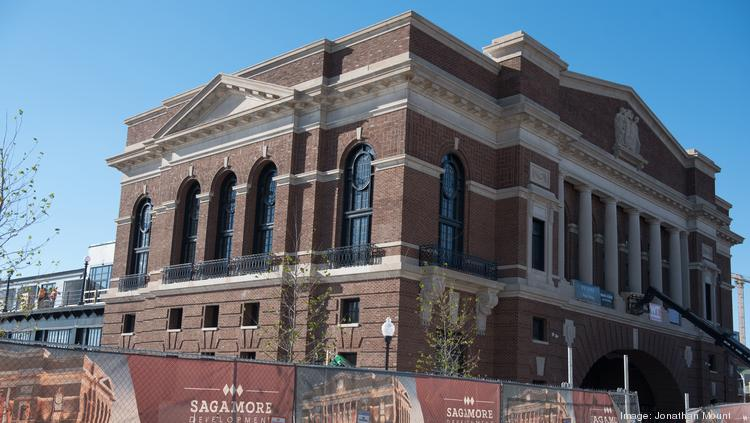 The Sagamore Pendry Baltimore S Grand Ballroom Is On Top Floor Of Main Building And