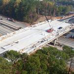 Renovated Alpharetta bridge ready for shoppers