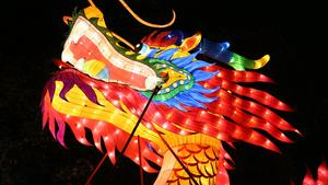 PHOTOS: Chinese Lantern Festival returns to the Ohio fairgrounds