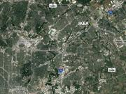 The proposed San Antonio-area IKEA would be in Live Oak, about 65 miles south of downtown Austin.