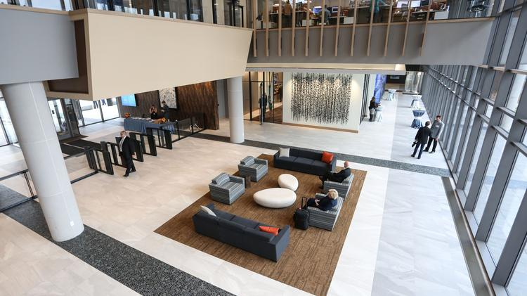 Charlotte Companies Design Hq Spaces With Culture In Mind Charlotte Business Journal