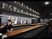A rendering of the Dark Room Wine Bar & Photo Gallery, which will relocate to the Grandel Theatre from its current location on Grand Avenue. It will feature ongoing photography exhibits and nightly live music.