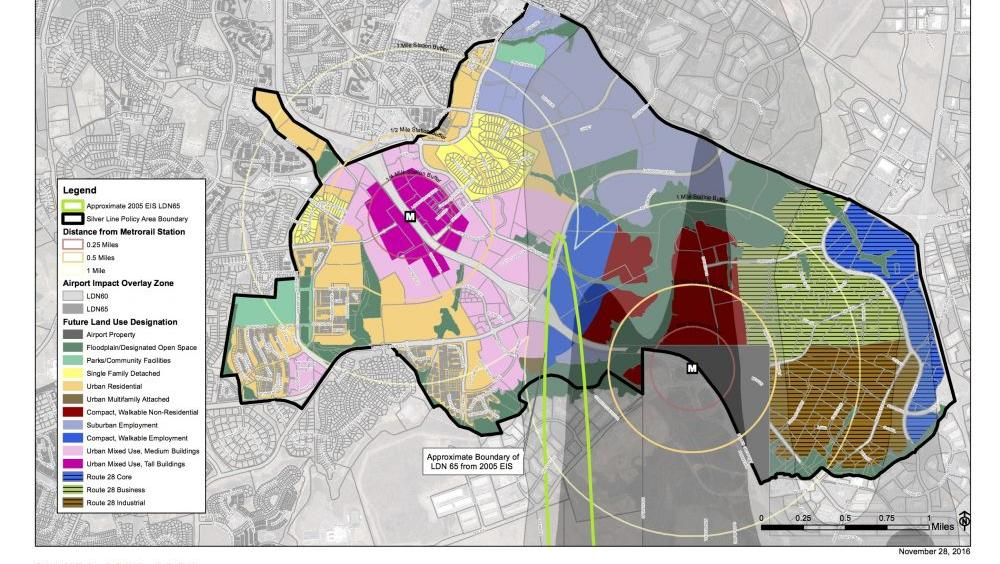 Loudoun Supervisors Move On Plan To Limit Residential Near Dulles - Us noise map