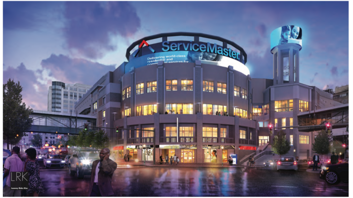 Contractor named for ServiceMaster renovation