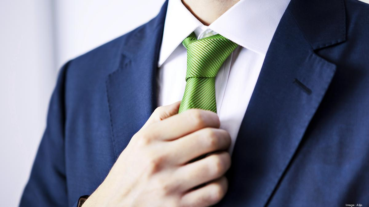 What Your Necktie Knot Says About You The Business Journals How To Tie A Tying Windsor