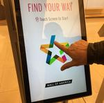Lost at MOA? Kiosks send directions to your smartphone