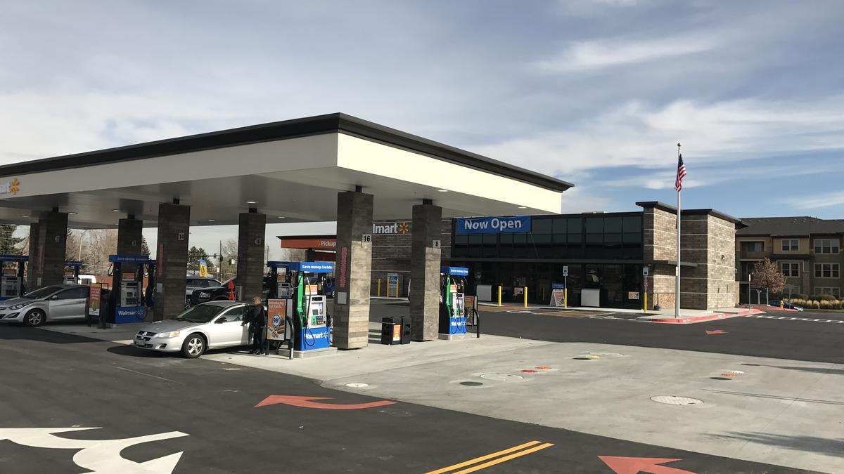 Walmart launches its new grocery pick-up and gas station