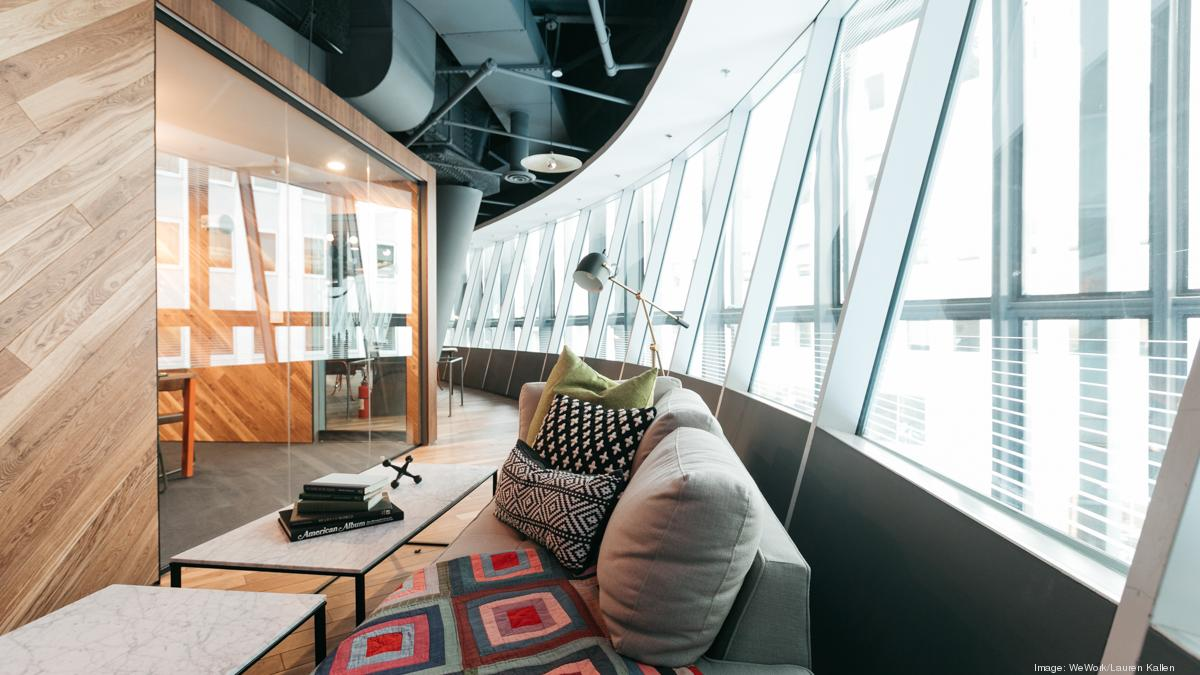 Take a peek at WeWork\'s new Fulton Center location - New York ...