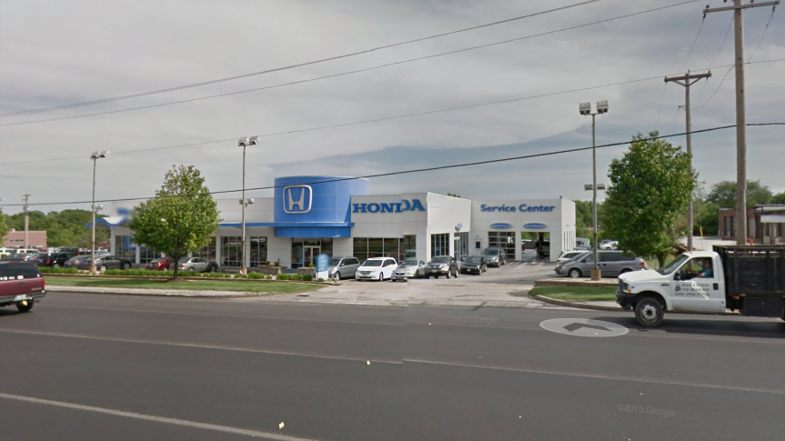William cafarella former general manager of west county for Honda dealership st louis
