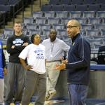 Grizzlies officially launch PAL program with coaching clinic