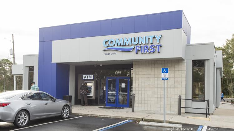 Originally built in the 1980s the Community First Credit Union on Merrill Road underwent a $1.7 million renovation.