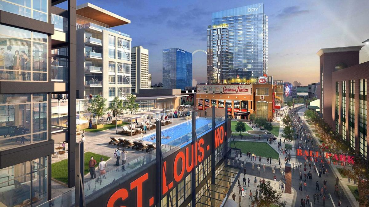 Cardinals Release New Ballpark Village Renderings