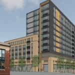 Developer plans 12-story apartment, retail building near UMB, Lexington Market