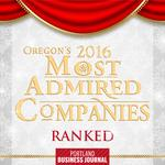 Here they are: Oregon's Most Admired Companies of 2016 (Ranked)